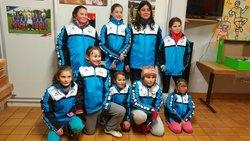 Dernier entrainement des Poussines et Remise du Cadeau de Noël - Union Sportive Saessolsheim féminines