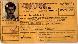 LICENCES 1974-75 - Union Sportive San Martinoise ( USSM )