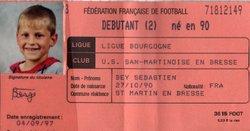 JEUNES   années 1996-1997 ( déjà des stars en photos) - Union Sportive San Martinoise ( USSM )