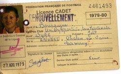 licences  vers années 1980   ( les damerois principal vivier de l'USSM  ;-)          ) - Union Sportive San Martinoise ( USSM )