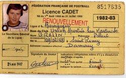 SUITE licences  vers années 1980   ( les damerois principal vivier de l'USSM  ;-)          ) - Union Sportive San Martinoise ( USSM )