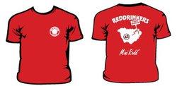 Tee-shirt mini Red