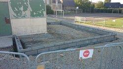 Agrandissement buvette juillet 2014 - USTA NOELLET
