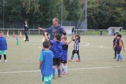 Les U7a l'entrainement - Union Sport Tourcoing Football