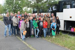 L'ECOLE DE FOOT EN DEPLACEMENT A BORDEAUX