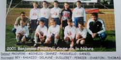 Benjamins 2001 - Vaillante Prémery
