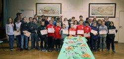 Photos : Remise des diplômes du meilleur sportif par la Municipalité de Prémery - Vaillante Prémery