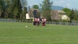 Premier match de l'équipe fanion en Régional 2 sur le nouveau stade d'honneur d'Aoste - Vallée du Guiers FC