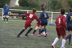 Match des U17F B (Groupe Anthony) VGA Bohars contre Lesneven (11/11/2017) à Bohars. - VGABohars Féminines
