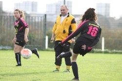 Matchs des Seniors Féminines VGA Bohars contre Plouzané (15/11//2017) au Kreisker. - VGABohars Féminines