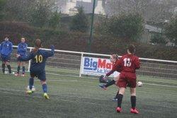 Match des U17F B (Groupe Anthony) VGA Bohars contre Lesneven (27/01/2018) à Bohars. - VGABohars Féminines