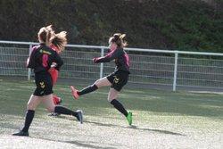 Match des U17F (Groupe Anthony) VGA Bohars contre Saint-Renan (17/02/2018) à Bohars. - VGABohars Féminines