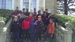 Saison 2017/2018 les U11 à Clairefontaine - FOOTBALL CLUB OLYMPIQUE DE VIGNEUX