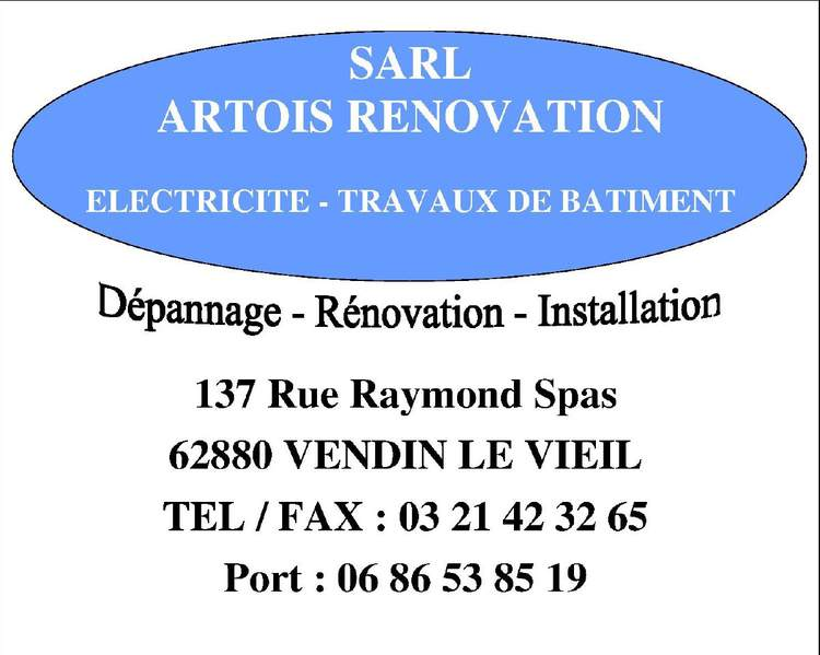 Artois Renovation