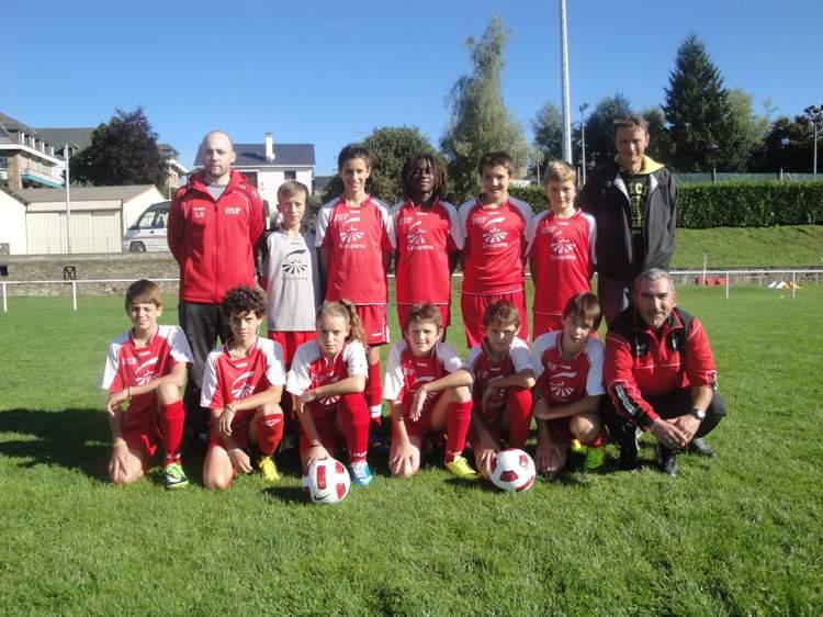 U13 à 8 équipe 1 (nés en 2001 - 2002)