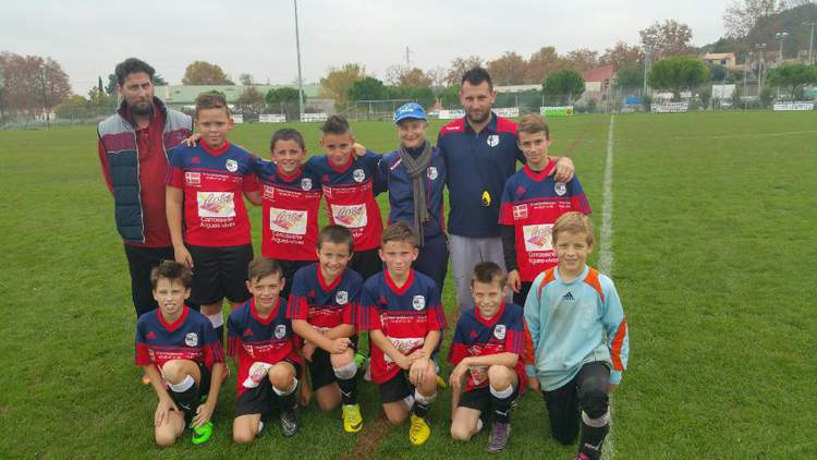 ES AIGUES VIVES AUBAIS GALLRGUES U13