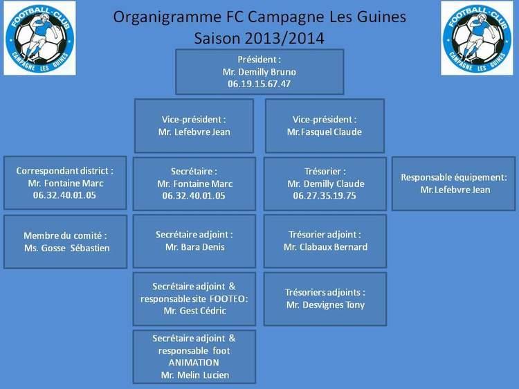 Agenda - F.C. CAMPAGNE - FFF