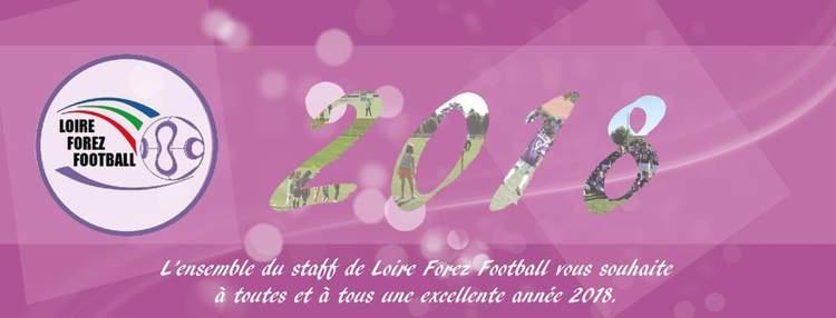 Meilleurs voeux pour 2018 !! - Loire Forez Football