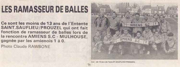 1995 / 1996 - Association Sportive Prouzel-Plachy