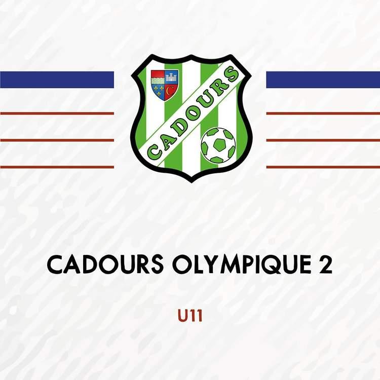 U11 - CADOURS OLYMPIQUE 2