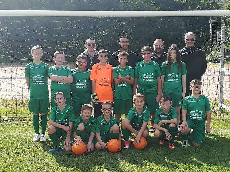 U13 FC Marmagne