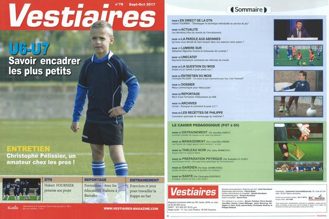 Vestiaires magazine N°78