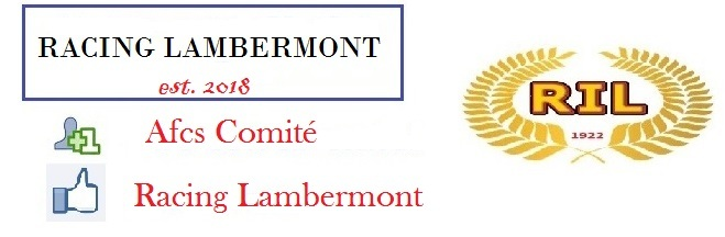 Racing Lambermont : site officiel du club de foot de Lambermont - footeo