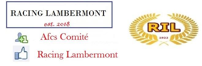 Racing Lambermont : site officiel du club de foot de Lambermont - footeo