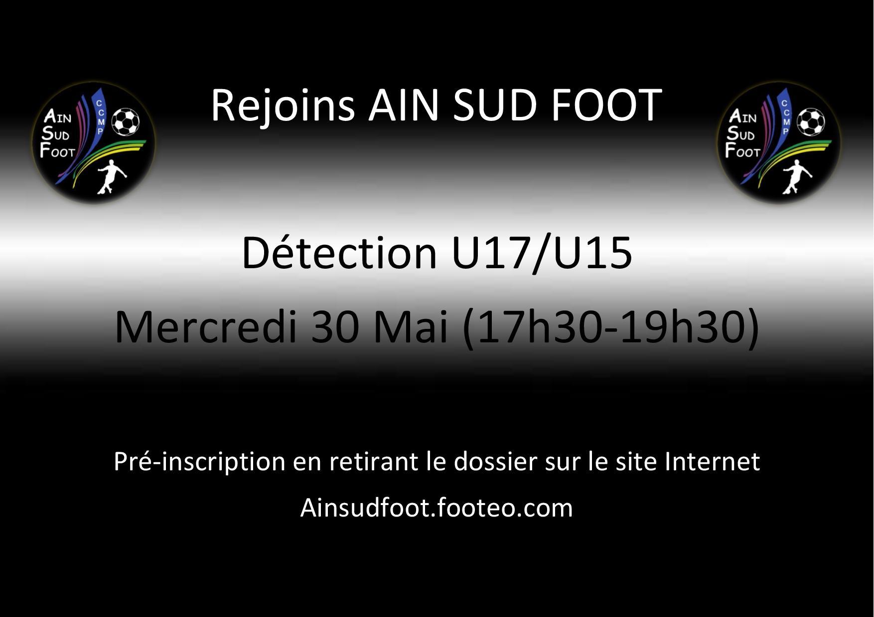 Détection Ain sud foot