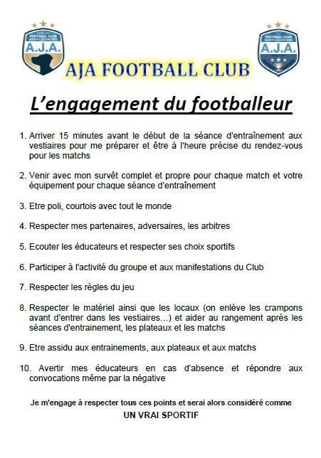 L'engagement du footballeur