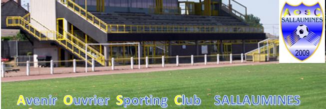 Site Internet officiel du club de football AOSC SALLAUMINES