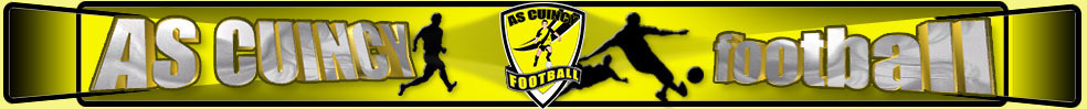 AS CUINCY FOOTBALL : site officiel du club de foot de CUINCY - footeo