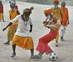 L' INDE  nouveau pays de football
