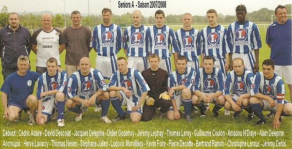 Seniors A Saison 2007/2008