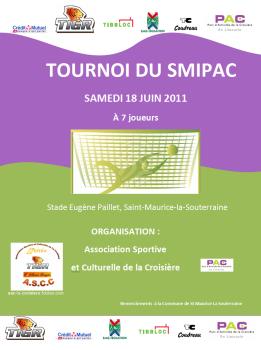 Affiche tournoi SMIPAC 2011
