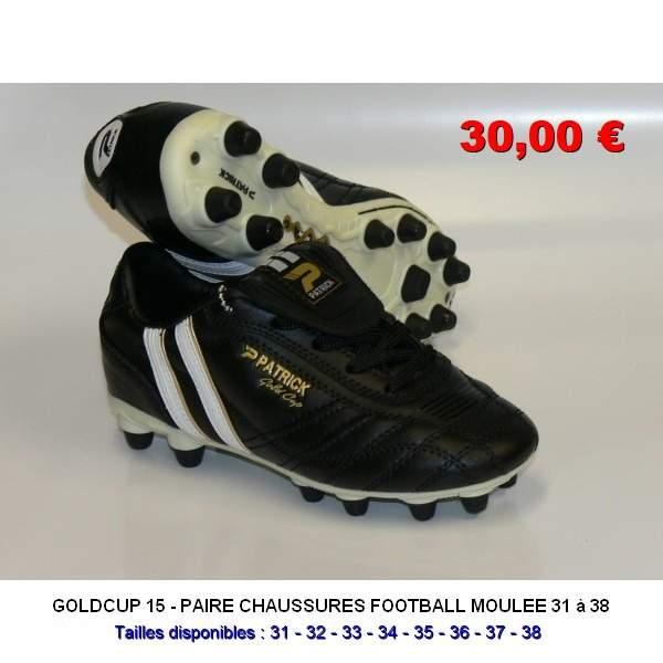 Patrick Chaussures /à Crampons Goldcup