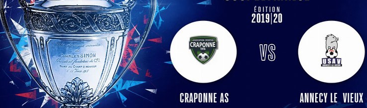 Site Internet officiel du club de football AS CRAPONNE