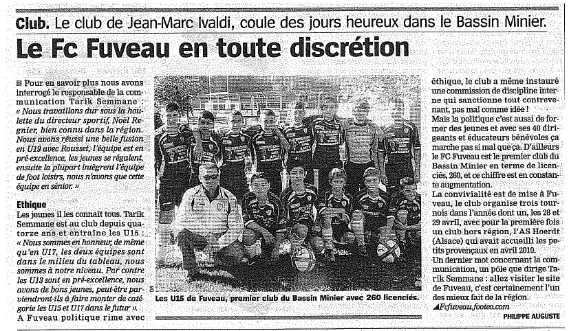 Article Fuveau