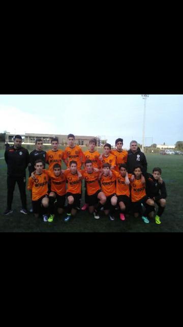 U15 equipe 1