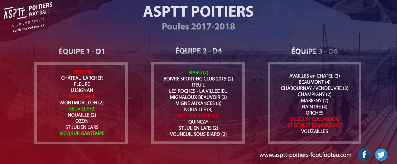 Poules 2017-2018