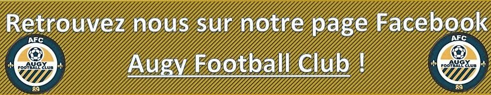 Augy Football Club : site officiel du club de foot de AUGY - footeo
