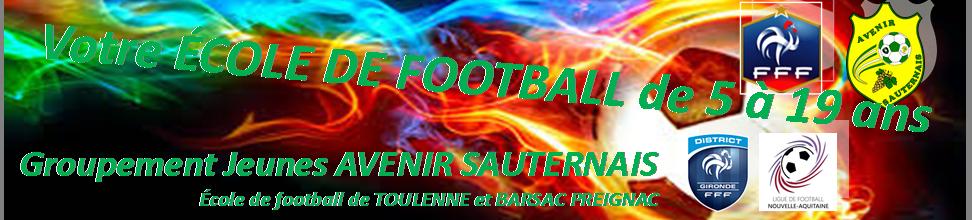 GROUPEMENT JEUNES AVENIR SAUTERNAIS : site officiel du club de foot de Preignac - footeo