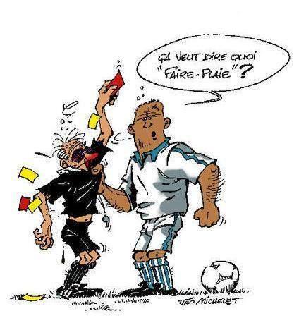 Assez Actualité - Une caricature humoristique d'un fait - club  WR99