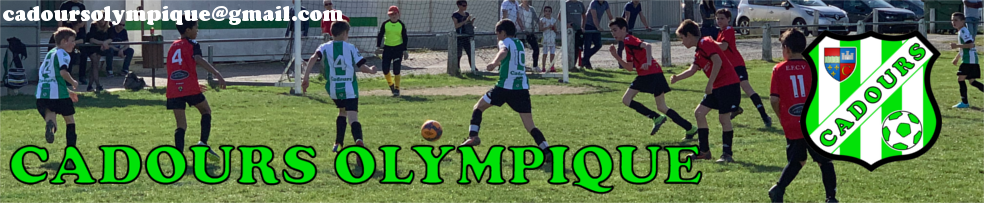 CADOURS Olympique : site officiel du club de foot de CADOURS - footeo
