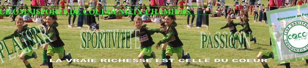 CLUB OMNISPORTS DE COULOUNIEIX - CHAMIERS : site officiel du club de foot de COULOUNIEIX CHAMIERS - footeo