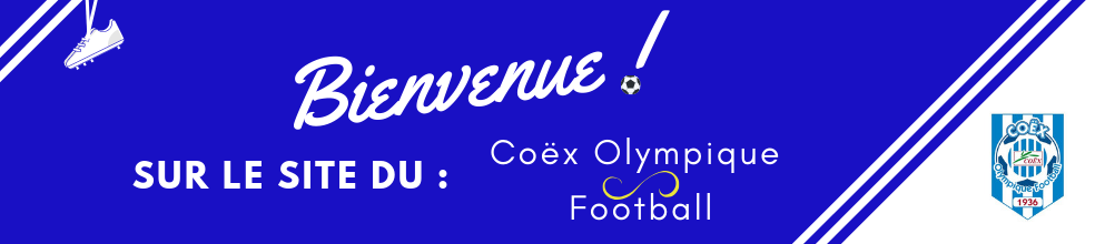 Coëx Olympique Football : site officiel du club de foot de Coëx - footeo