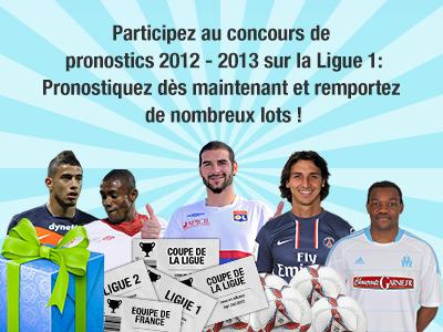 Concours de pronostics footeo - Ligue 1