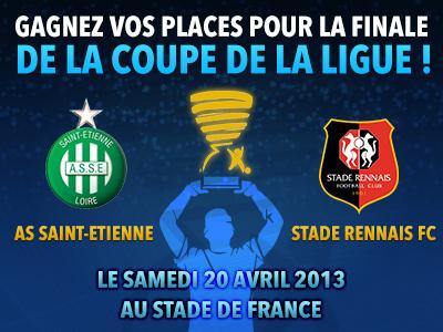 Gagnez vos places pour la finale de la Coupe de la Ligue