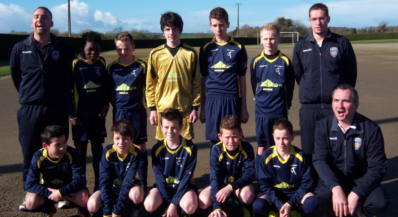 Équipe U13 A du Groupement des Jeunes du Pays de Josselin - saison de football 2013/2014 en cours