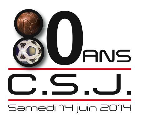 Logo 80 ans du C.S. JOSSELINAIS